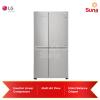 LG Nett 626L Side-by-Side Refrigerator with Door-in-Door™ GC-M247SLUV